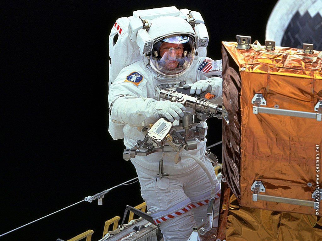 Two NASA Astronauts Begin Station Spacewalk  Space Station