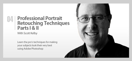 Training Professional Portrait Retouching by Scott Kelby