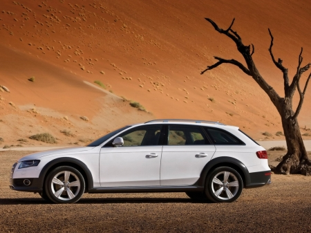 A4 Allroad Quattro New + New wallpapers R8!