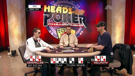 2009 National Heads Up Poker Championship (Эпизод 8 и 9) [2009 г., Покер NL Holdem, HDTVRip]