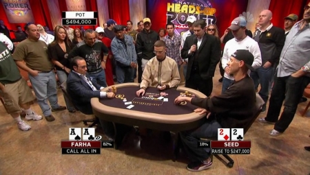 2009 National Heads Up Poker Championship (Эпизод 10 и 11) [2009 г., Покер NL Holdem, HDTVRip]