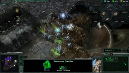StarCraft 2. Battle Report Zerg versus Protoss