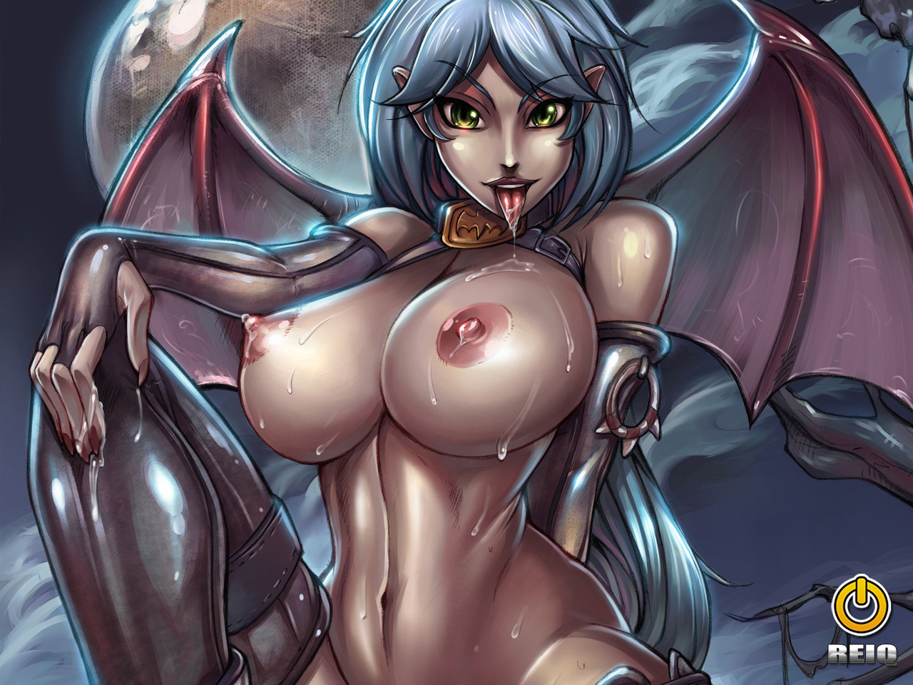 Succubus naked and having sex anime sexy movie