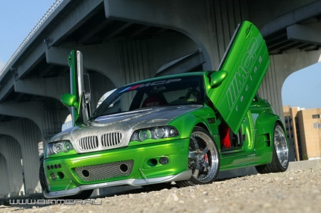 BMW M3 Coupe Hulk
