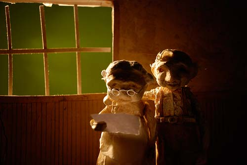 �������� ������� ����� (A Short Love Story In Stop Motion)