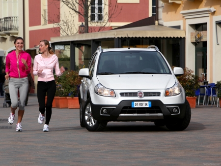 2010 Fiat Sedici Wallpapers 1600x1200