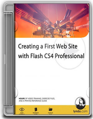 Lynda.com - Flash CS4 Professional Creating a First Web Site