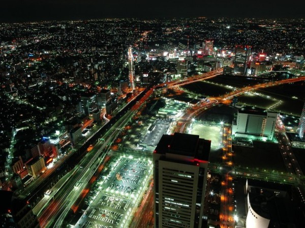 Night Japan photography