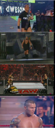Monday Night RAW / WWE (08.02.2010) SATRip