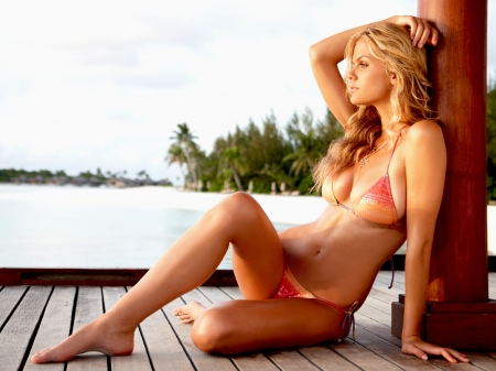 Красавица Brooklyn Decker - фотосессия для Sports Illustrated, Февраль 2010