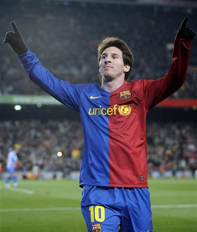 101 гол Лео Месси за Барселону / 101 Messi Goals in Barcelona (2010) SATRip