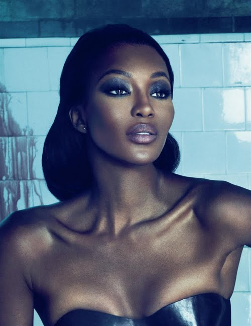 Naomi Campbell in Interview Magazine, October 2010