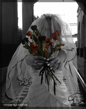 My dead bride by Arseniya Grotesk