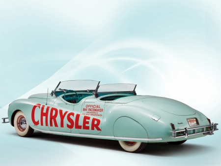 Classical American cars. Chrysler