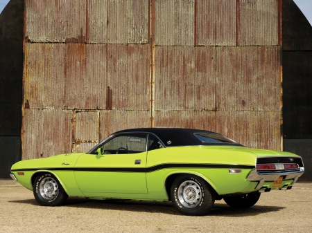 Classical American cars. Dodge