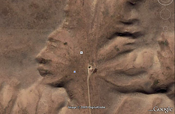 Находки Google Earth