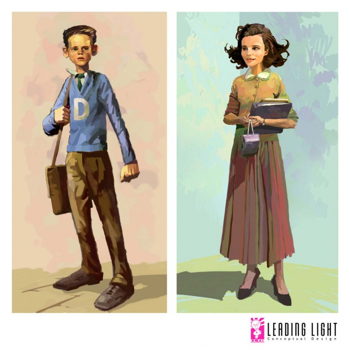 Leading Light Concept Arts