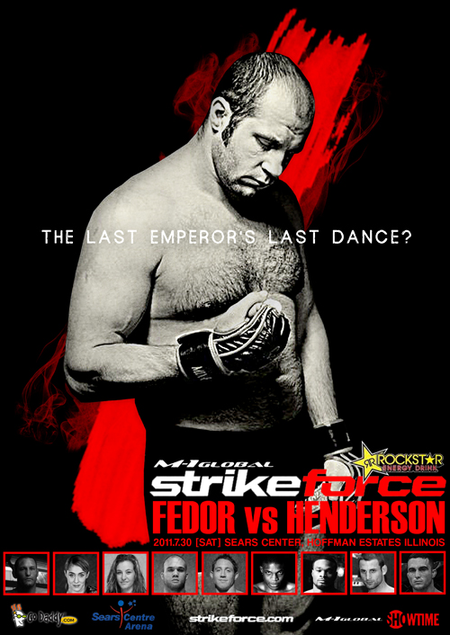 Strikeforce - Fedor vs. Henderson [2011 г., MMA, HDTVRip x264]