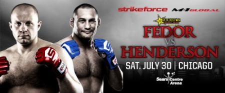 Strikeforce: Fedor vs. Henderson / Фёдор Емельяненко vs. Дэн Хендерсон