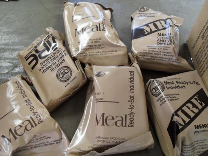 ����� ���� �� ���. �eal-ready-to-eat (MRE)