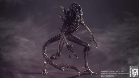 Alien Art By Locusta - Wallpapers (HQ)