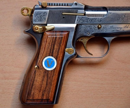 Пистолет Browning HP (High Power 1935) Бельгия.