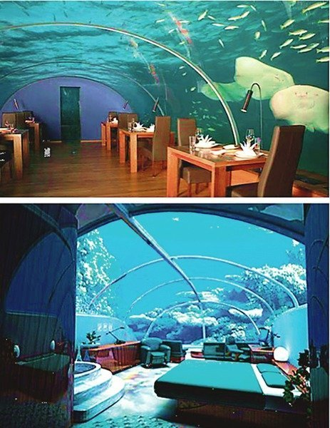 ������� ����� Poseidon Undersea Resort