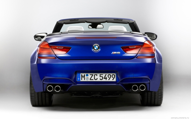 BMW M6 Coupe и Convertible 2012