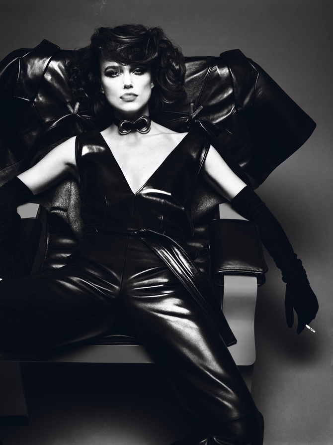 Keira Knightley by Mert&Marcus for Interview Magazine