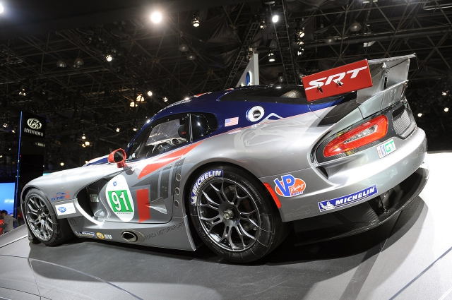 New York International Auto Show 2012 (Dodge Challenger Rallye Redline, Mercedes-Benz SL 65 AMG, SRT Viper GTS-R)