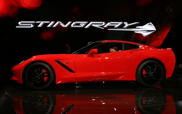 Новый Chevrolet Corvette Stingray