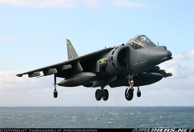 Эволюция истребителя Hawker Siddely Harrier