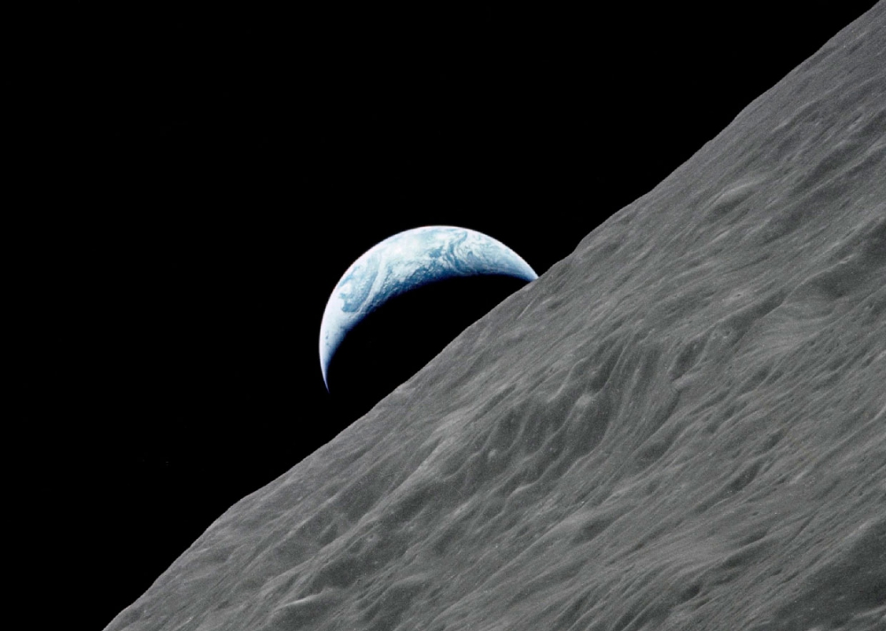earth from the moon - 991×703