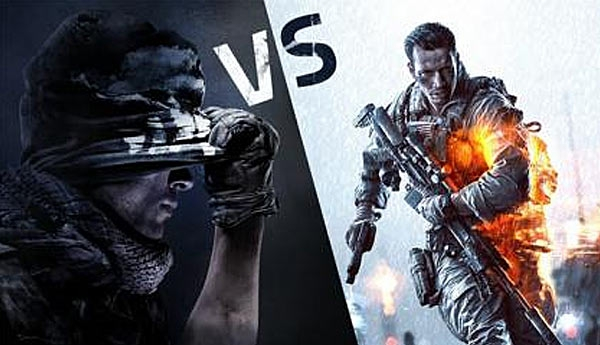 ����� Call of Duty: Ghosts � Battlefield 4