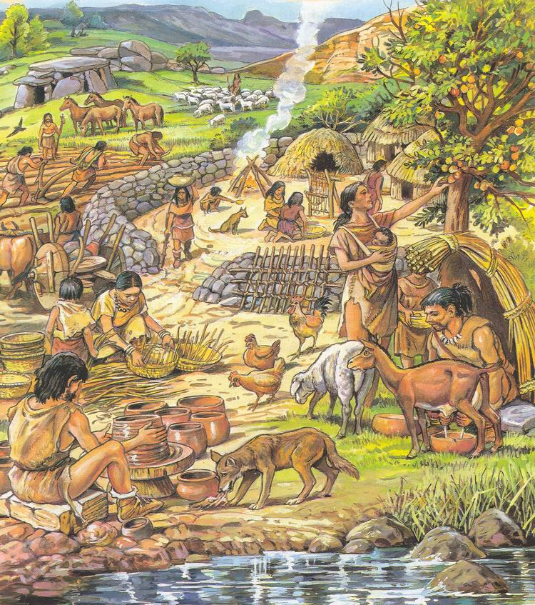 a look at the kung and the neolithic revolution The evolution of diet as we look to 2050, when we'll need to feed two billion more people the kung traditionally rely on tubers and mongongo nuts.