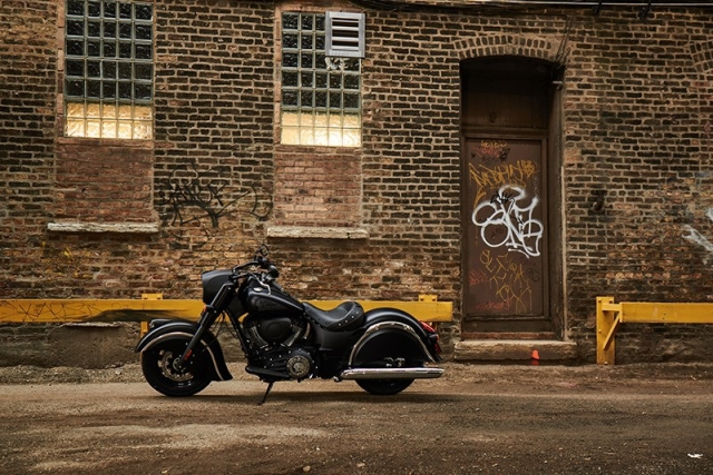 Новый мотоцикл Indian Chief Dark Horse 2016