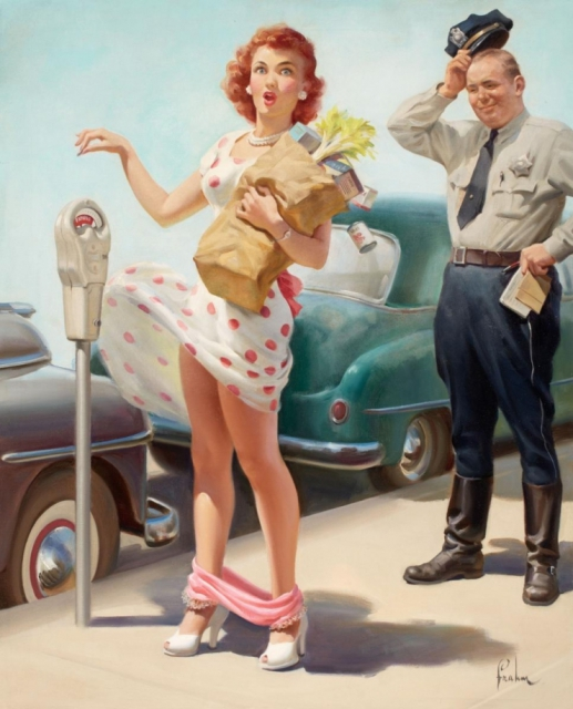Retro Pin-up Art Frahm