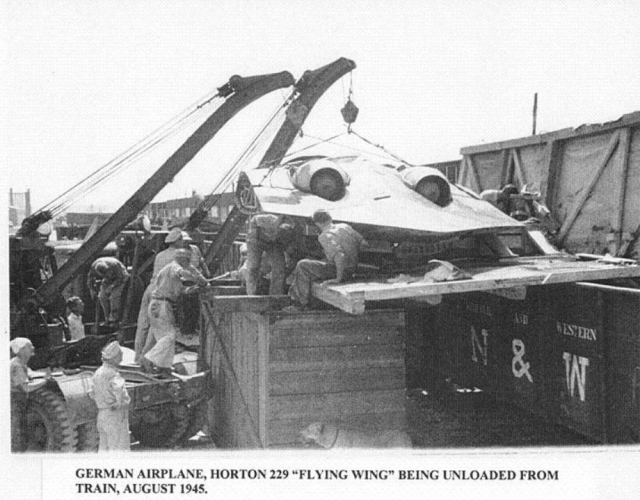 "Horten 229 V3 ""Flying Wing"""