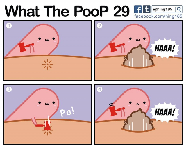 What the poop!?