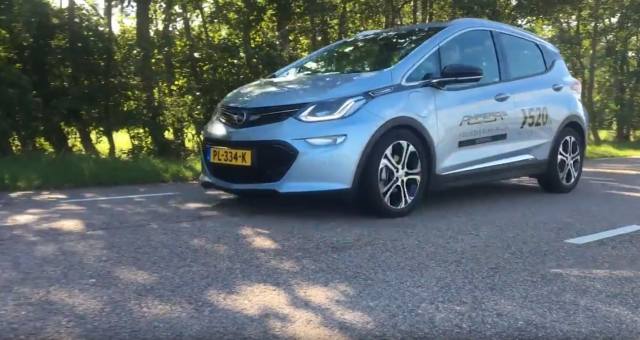 new Opel eAmpera 2017