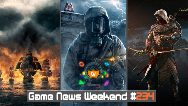Игровые Новости — Game News Weekend #234 | (Metro Exodus, Assassin's Creed 2019, Skull and Bones)