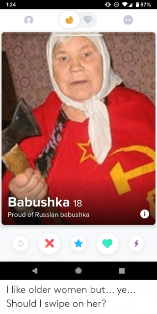 God save babushka!